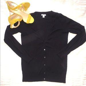 Black cardigan sweater- size small